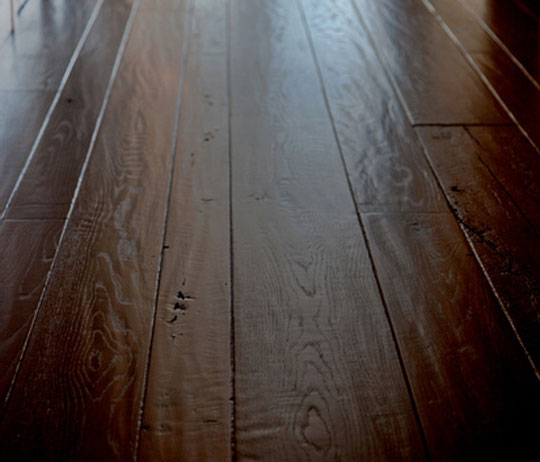 California wood floors the beauty of a wood floor truly for Distressed wood flooring